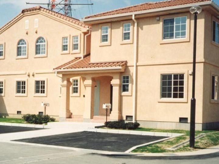 町営住宅建設時の様子1
